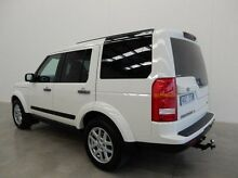 2009 Land Rover Discovery 3 Series 3 09MY SE White 6 Speed Sports Automatic Wagon Braeside Kingston Area Preview