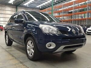2008 Renault Koleos H45 Dynamique Blue 6 Speed Manual Wagon Fyshwick South Canberra Preview