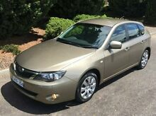 2008 Subaru Impreza G3 MY08 R AWD Gold 5 Speed Manual Hatchback Vermont Whitehorse Area Preview