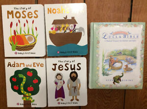 BABY BIBLE BOARD BOOKS 5 for $15