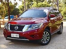 2013 Nissan Pathfinder  Red Constant Variable Wagon Medindie Gardens Prospect Area Preview