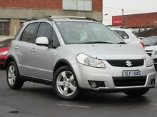2010 Suzuki SX4 GYA MY10 S Silver 6 Speed Constant Variable Hatchback Preston Darebin Area Preview