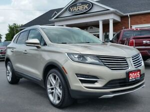 2015 Lincoln MKC AWD ECOBOOST, Pano Roof, NAV, Heated/Cooled Sea
