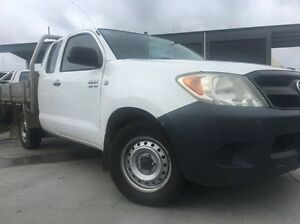 2005 Toyota Hilux GGN15R MY05 SR Xtra Cab White 5 Speed Automatic Utility Invermay Launceston Area Preview