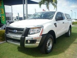 2014 Ford Ranger PX XL Super Cab White 6 Speed Manual Utility Townsville Townsville City Preview