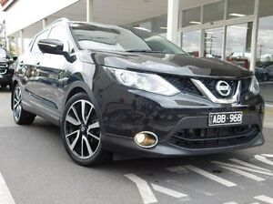 2014 Nissan Qashqai J11 TI Black 1 Speed Constant Variable Wagon Hadfield Moreland Area Preview