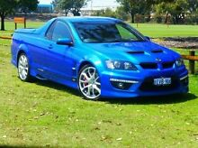 2011 Holden Special Vehicles Maloo E Series 3 R8 Blue 6 Speed Manual Utility Bassendean Bassendean Area Preview