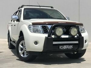 2014 Nissan Navara D40 S5 MY12 ST-X White 7 Speed Sports Automatic Utility Kings Park Blacktown Area Preview