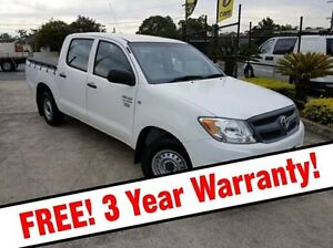 2007 Toyota Hilux TGN16R MY07 Workmate White 5 Speed Manual Utility Acacia Ridge Brisbane South West Preview