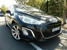 2013 Peugeot 308 T7 MY13 Allure Black 6 Speed Sports Automatic Hatchback South Melbourne Port Phillip Preview