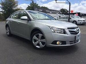 2010 Holden Cruze JG CDX Silver 6 Speed Sports Automatic Sedan Heidelberg Heights Banyule Area Preview