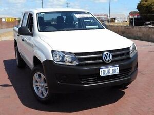 2011 Volkswagen Amarok 2H MY12 TDI400 White 6 Speed Manual Utility Spearwood Cockburn Area Preview