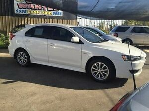 2009 Mitsubishi Lancer CJ MY10 VR Sportback White 6 Speed Constant Variable Hatchback Maidstone Maribyrnong Area Preview