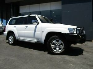 2012 Nissan Patrol GU 7 MY10 ST White 5 Speed Manual Wagon Earlville Cairns City Preview