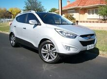 2013 Hyundai ix35 LM3 MY14 Highlander AWD Silver 6 Speed Sports Automatic Wagon Nailsworth Prospect Area Preview