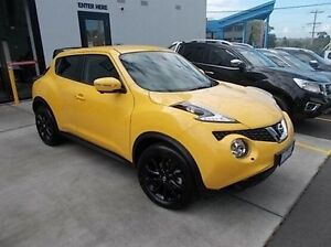 2015 Nissan Juke F15 Series 2 Ti-S X-tronic AWD Yellow 1 Speed Constant Variable Hatchback Burwood Whitehorse Area Preview