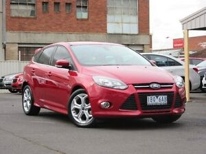 2014 Ford Focus LW MKII MY14 Sport PwrShift Red 6 Speed Sports Automatic Dual Clutch Hatchback Preston Darebin Area Preview