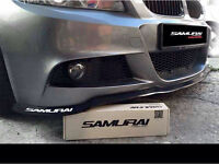 BMW Bumper splitter spoiler M3 M4 E46 Msport M5 M6 i8 645i 130i 335i 330ci X5 X3 740d