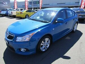 2014 Holden Cruze JH Series II MY14 SRi Blue 6 Speed Sports Automatic Hatchback Cardiff Lake Macquarie Area Preview