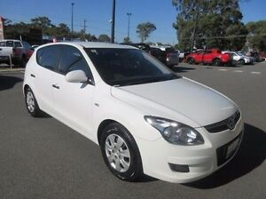2011 Hyundai i30 FD MY11 SX White 4 Speed Automatic Hatchback Mandurah Mandurah Area Preview