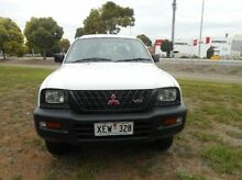 2002 Mitsubishi Triton  White Manual Utility Mile End South West Torrens Area Preview
