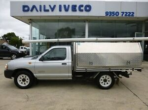 2009 Nissan Navara D22 MY2009 DX White 5 Speed Manual Cab Chassis Coburg North Moreland Area Preview