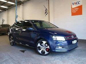 2013 Volkswagen Polo 6R MY13.5 GTI DSG Blue 7 Speed Sports Automatic Dual Clutch Hatchback Highett Bayside Area Preview