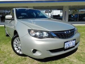 2009 Subaru Impreza Gold Sports Automatic Sedan Victoria Park Victoria Park Area Preview