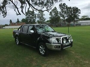 2012 Nissan Navara D40 S5 MY12 ST-X 550 Black 7 Speed Sports Automatic Utility East Kempsey Kempsey Area Preview