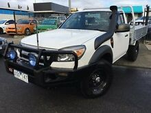 2010 Ford Ranger PK XL White 5 Speed Automatic Cab Chassis Doveton Casey Area Preview