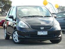 2007 Honda Jazz GD MY06 VTi Black 7 Speed Constant Variable Hatchback Mitchell Park Ballarat City Preview