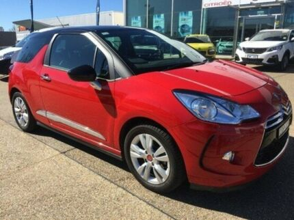 2013 Citroen DS3 MY13 Dstyle Red 4 Speed Sports Automatic Hatchback