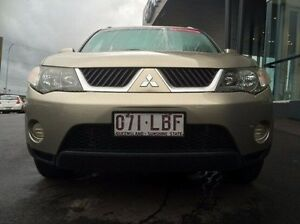 2008 Mitsubishi Outlander ZG MY08 LS Gold 5 Speed Manual Wagon Earlville Cairns City Preview