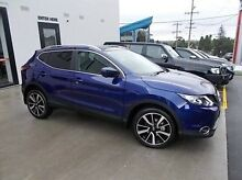 2015 Nissan Qashqai J11 TI Blue 1 Speed Constant Variable Wagon Burwood Whitehorse Area Preview