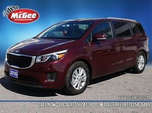 2016 Kia Sedona LX+ Peterborough Peterborough Area image 1