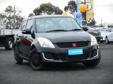 2014 Suzuki Swift FZ MY14 GL Black 4 Speed Automatic Hatchback Mitchell Park Ballarat City Preview