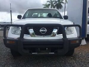 2012 Nissan Navara D40 S6 MY12 RX White 5 Speed Automatic Cab Chassis Berrimah Darwin City Preview