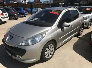 2009 Peugeot 207 A7 XT Silver 5 Speed Manual Hatchback Welshpool Canning Area Preview