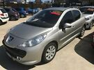 2009 Peugeot 207 A7 XT Silver 5 Speed Manual Hatchback