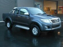 2013 Toyota Hilux KUN26R MY12 SR5 Double Cab Grey 5 Speed Manual Utility Mount Gambier Grant Area Preview
