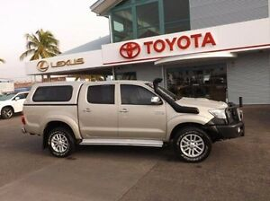2012 Toyota Hilux KUN26R MY12 SR5 Double Cab Gold 5 Speed Manual Utility Rockhampton Rockhampton City Preview