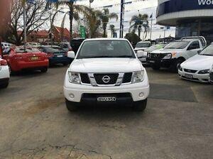 2011 Nissan Navara White Manual Utility Wodonga Wodonga Area Preview