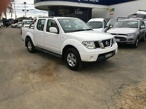 2011 Nissan Navara White Manual Utility Wodonga Wodonga Area Preview