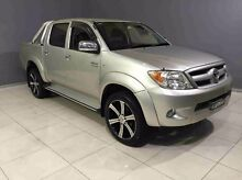 2008 Toyota Hilux GGN25R MY08 SR5 Silver 5 Speed Manual Utility Kingsgrove Canterbury Area Preview