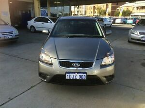 2010 Kia Rio JB MY10 S Charcoal 4 Speed Automatic Hatchback South Fremantle Fremantle Area Preview