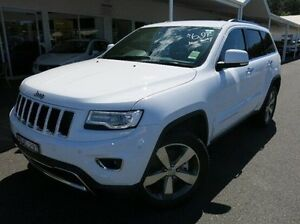 2015 Jeep Grand Cherokee WK MY15 Limited White 8 Speed Sports Automatic Wagon Coffs Harbour Coffs Harbour City Preview