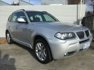2010 BMW X3 E83 MY10 xDrive20d Steptronic Lifestyle Silver 6 Speed Automatic Wagon North Hobart Hobart City Preview