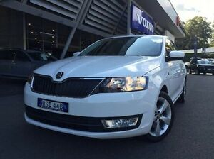 2013 Skoda Rapid White Manual Hatchback Coffs Harbour Coffs Harbour City Preview