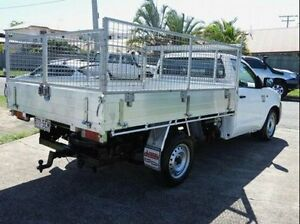 2011 Toyota Hilux KUN16R MY12 Workmate White 5 Speed Manual Cab Chassis Wynnum Brisbane South East Preview