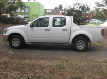 2006 Nissan Navara D40 RX White 5 Speed Automatic Utility Woodville Park Charles Sturt Area Preview